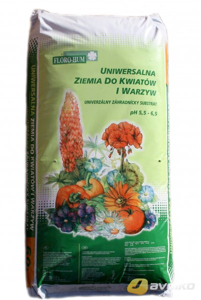 Florohum Earth Universal Substrát 20 L