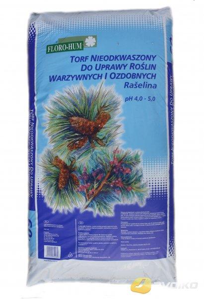Rašelina pre ihličnany a kyslomilné rastliny