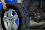 Vyvažovanie pneu plechové disky